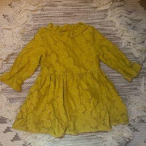 BRAND NEW* never worn yellow fall dress